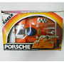 Auto Antiguo Porsche 6 Wheel Racer En Blister