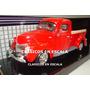 Ford 1940 Pick Up - Clasica Americana Roja - Motormax 1/24