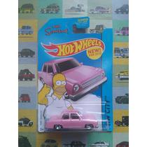 Hot Wheels Homero Auto The Simpsons The Homer 1:64