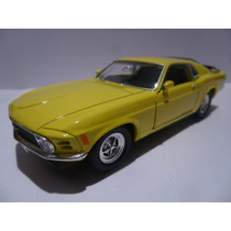 Ford Mustang 1970,esc 1/36,metalico,welly,12,5cm,a Friccion