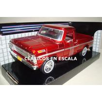 Ford F-100 Pickup 1969 - Clasica Argentina R.- Motormax 1/24
