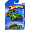 Hot Wheels Willys Coupe Año 2010 # 139 Verde K-mart