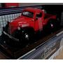 Plymouth Truck Pick Up 1941 Roja 1/24 Motor Max.