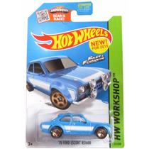 Hot Wheels Rapido Y Furiosos Ford Escort 70 Rs1600
