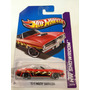 Hot Wheels 2013 70 Plymouth Barracuda Heat Fleet Hw Showroom