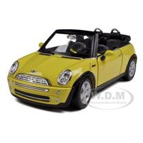 Mini Cooper Convertible Maisto 1/24 Edición Especial