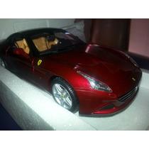 Burago Ferrari California T (closed Top) 1/18 Nueva $2500