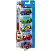 Pack 5 Mini Autos A Fricción Colección Maisto Slickers