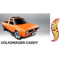 Hot Wheels Volkswagen Caddy Pickup 2015 # 124 Solo Envios