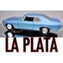 Chevrolet Chevy Nova 1970 Metal Escala 1/18 Replica La Plata