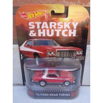 Hotwheels 1:64 Starsky & Hutch 76 Ford Gran Torino Tv Series