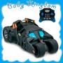 Auto Batimovil Batman Luces,sonidos Reales C Remoto Thinkway