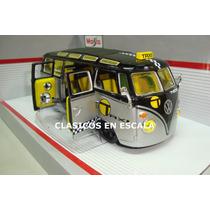 Volkswagen Van Zamba - Clasica Combi Tuning - Maisto 1/24
