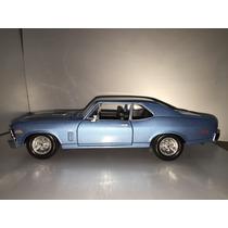 Coupe Chevy Nova Ss 1970 Maisto Escala 1/24