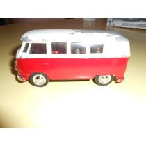 Autito De Coleccion Welly Volkswagen Microbus 1962 Joyita!!