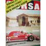 Revista Corsa 786 Villeneuve Ferrari F1 Silverstone Vatanen