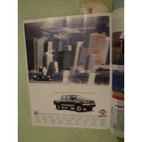 Publicidad Nissan Pick Up 4x4 Año 1998