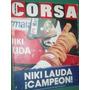 Revista Corsa 959 Niki Lauda Campeon Formula Uno 1984