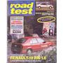 Revista Road Test Nº35 Renault 19 Rn 1.6 Peugeot 405
