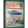 Revista Auto Sport 153 Ford Sierra Frank Williams Camel Trop