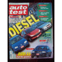 Auto Test 106 8/99 Vw Golf Tdi Peugeot 206 Xrd Ford Escort T