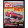 Auto Test 143 9/02 Ferrari Enzo Bmw Z4 Ford Fiesta Polo Gnc