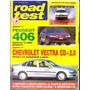 Revista Road Test Nº74 Chevrolet Vectra Cd Peugeot 406