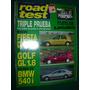 Revista Road Test 71 Ford Fiesta Volkswagen Vw Golf Bmw 540