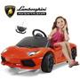 Lamborghini Auto A Bateria Con Control Remoto Mp3 12 Cuotas