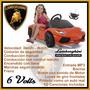 Lamborghini Aventador Naranja-bateria 6 Volts Ploppy 381181
