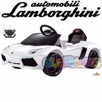 Lamborghini Aventador Auto A Bateria Control Mp3 12 Cuotas