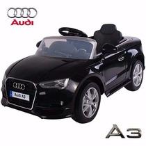 Audi A3 A Batería Negro Control Remoto 12 V 3 Vel Auto Coche
