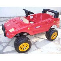 Auto Jeep Karting Ferrari F40 A Bateria Niños 3-6 Años