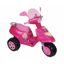 Scooter De Barbie Electrico Infantil