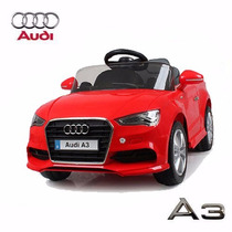Audi A3 A Batería Rojo Control Remoto 12 V 3 Vel Auto Coche
