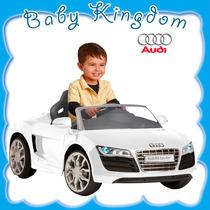 Auto A Bateria Para Niños Audi R8 Importado De Lujo. Nuevo!