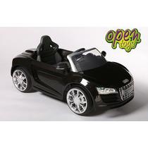 Auto Audi R8 Niños Bateria +c.remot+luces+mp3+fm / Open-t114