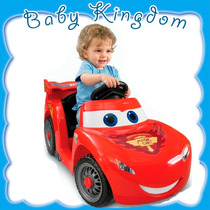 Auto-coche A Bateria Bebes-niños Fisher Price Rayo Mcqueen