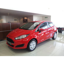 Ford Fiesta Kinetic S 5 Puertas Okm 2016 Blanco Negro Plata