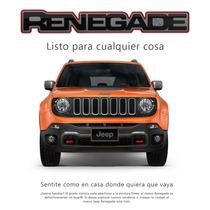 Jeep Renegade 4x4 2015 Reserva C/$ 18.000 Retira Septiembre