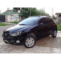 Peugeot 206 Xs 2007 Full Techo Abs, Climatizador, Financio
