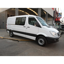 Mercedes Benz Sprinter 415 Mediano Mixto Con Aire Tn 0 Km