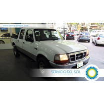 Ford Ranger 02 Xlt 4x4 2.8l Doble Cabina