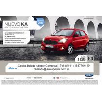 Nuevo Ford Ka 2016 - Pre Venta (cb)