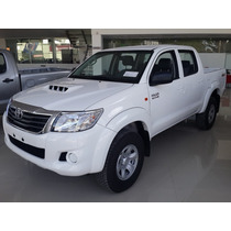 Nueva Toyota Hilux 4x4 C/d 2.8 Tdi Srx Financiado Y Cuotas