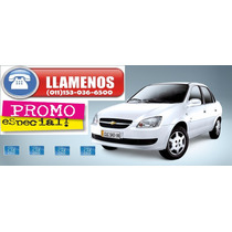 $35000 De Anticipo Y Cuotas Sin Interes Chevrolet Corsa 0km