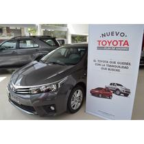 Toyota Corolla 1.8 0km 2015 Nuevo Plan De Ahorro
