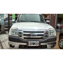Ford Ranger Xlt 4x4 3.0 2011 Blanca Pick Up