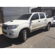 Toyota Hilux 4x2 Doble Cabina 2013 Titular,papeles Al Dia