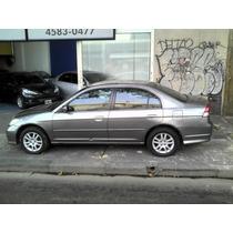Honda Civic 05 Lx A/t Excelente Estado Tomo Usado Financio